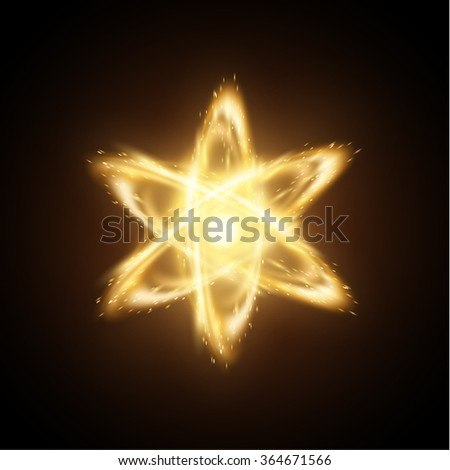 Atom science backlground. Vector eps10. - stock vector