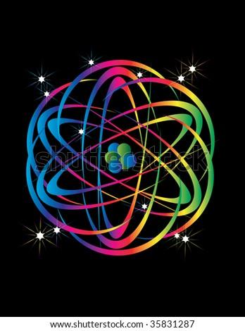 Atomic Energy - stock vector