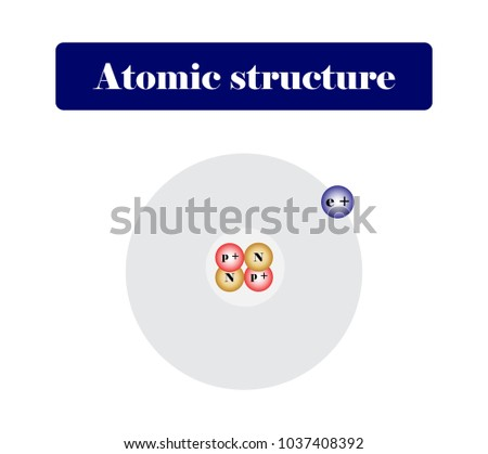 Atomic structure chemistry diagram stock vector 1037408392 atomic structure chemistry diagram ccuart Gallery