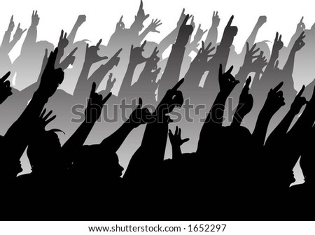 Audience - vector