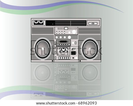 audio system illustration