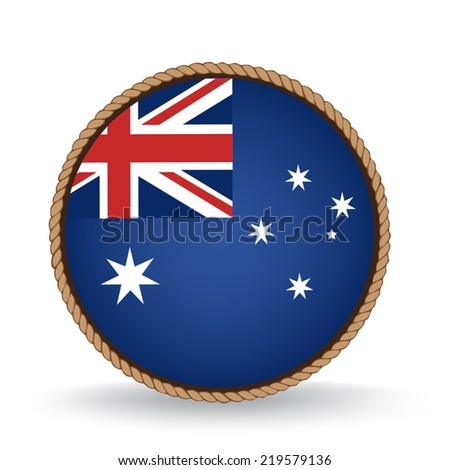 Australia Seal - stock vector