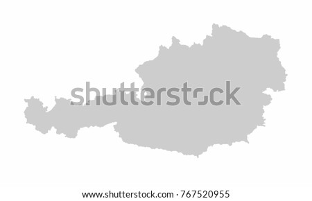Austria world map country outline graphic vectores en stock austria world map country outline in graphic design concept gumiabroncs Images