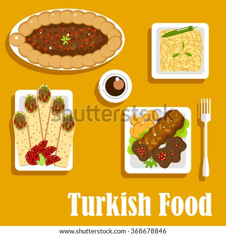 Stock photos royalty free images vectors shutterstock for Authentic turkish cuisine