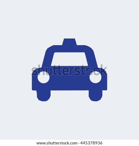 Auto icon, car icon, transport icon, taxi icon  - stock vector