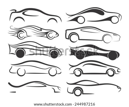 Auto logo - stock vector