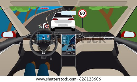 Car Cockpit Stock Images Royalty Free Images Amp Vectors