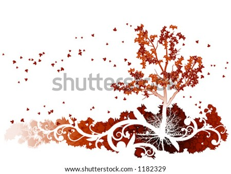 Autumn - stock vector