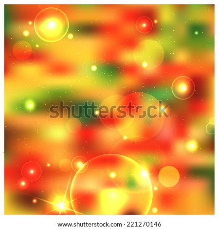 autumn bBright background with shimmering sunlight, the game highlightsackground with sun rays