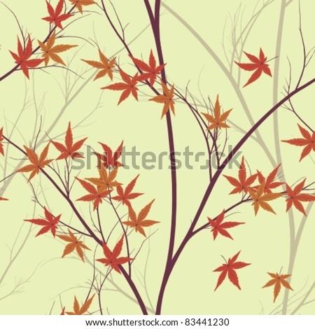 autumn leaves (seamless pattern)