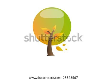 autumn season - stock vector