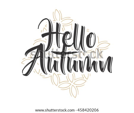 autumn text icon 3