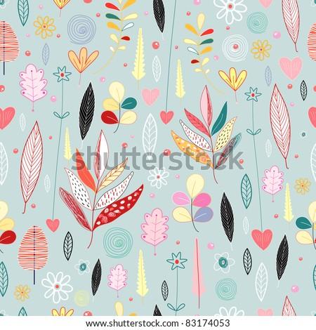 Autumn Texture - stock vector