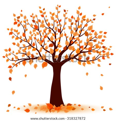 autumn tree stock images  royalty free images   vectors leaf raking clipart raking leaves clipart