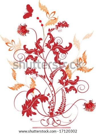 Autumn vertical banners - stock vector