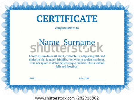 Award certificate template vector stock vector 282916802 award certificate template vector yelopaper Choice Image