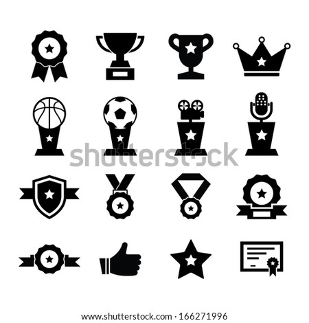 Award Icon - stock vector