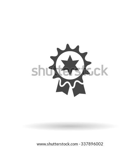 Award. Icon Vector - stock vector