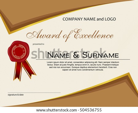 Award excellence wax seal ribbon stock vector royalty free award of excellence with wax seal and ribbon thecheapjerseys Image collections