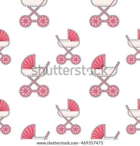 baby bottle vector illustration template design stock vector