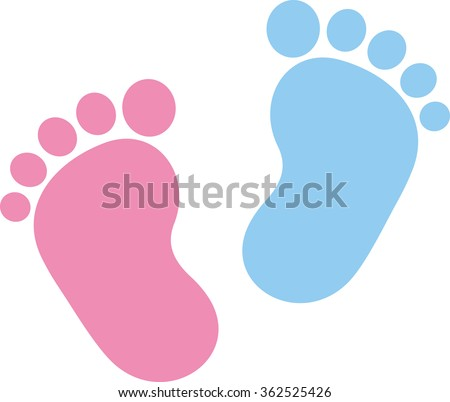baby footprints stock images royaltyfree images