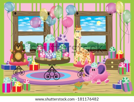 Baby partybaby partybaby party invitation notice stock vector 2018 baby partybaby partybaby party invitation notice the little details like the stopboris Image collections