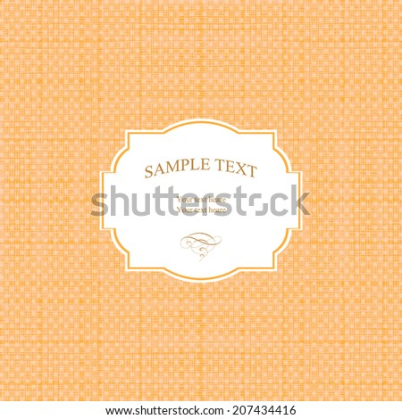 Baby shower - card template  - stock vector