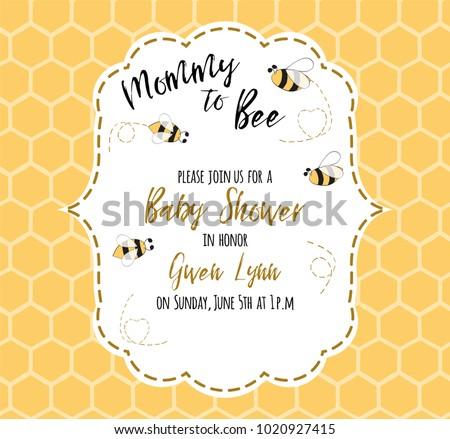Baby shower invitation template text mommy stock vector 2018 baby shower invitation template text mommy stock vector 2018 1020927415 shutterstock stopboris Gallery
