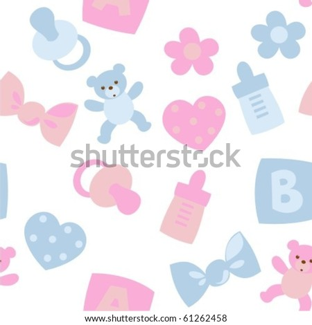 Baby toy - stock vector