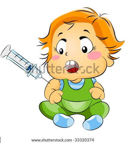 Baby Vaccinations Clip Art