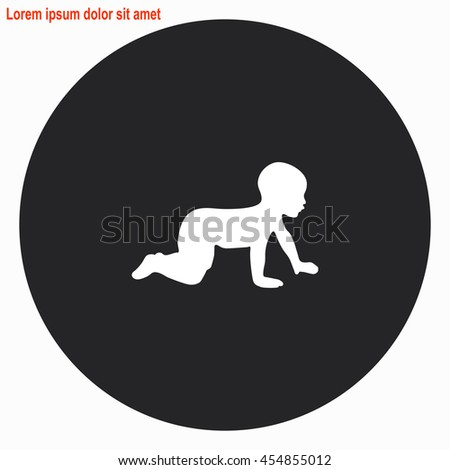 Baby Crawling Stock Images Royalty Free Images Amp Vectors