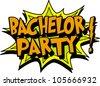 bachelor - stock vector