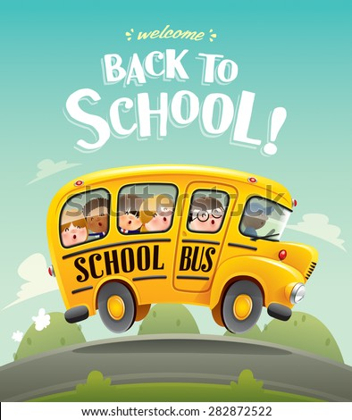 Back to School!  - stock vector