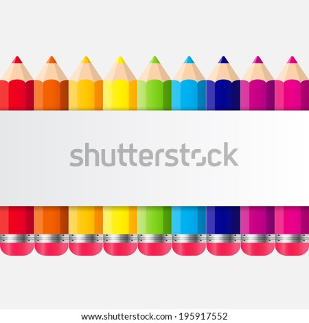 Back to School Concept Vector Illustration - stock vector