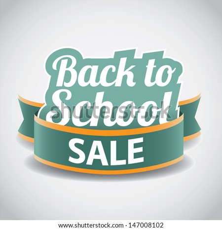 Back to school illustration. EPS 10 vector, grouped for easy editing. No open shapes or paths. - stock vector