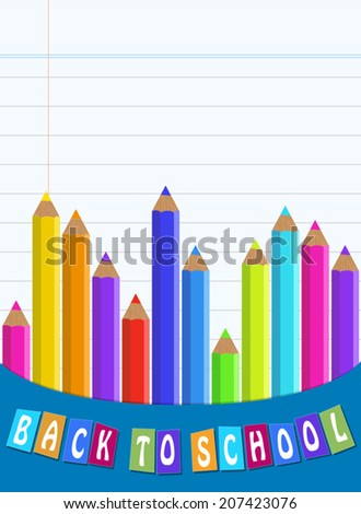 Back to School Vector Backgrounds, Easy to edit/ EPS 10.