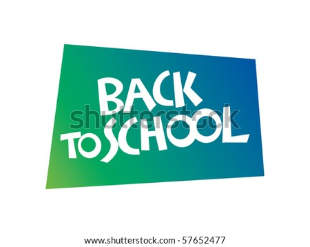 Back to School Vector Lettering