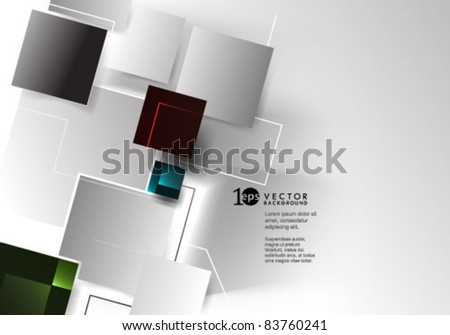 Background- Abstract Vector Illustration - stock vector