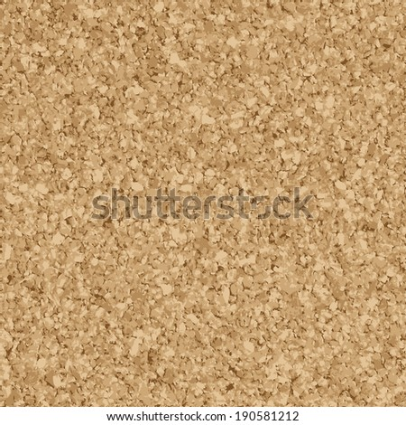 Background bulletin board - endless - stock vector