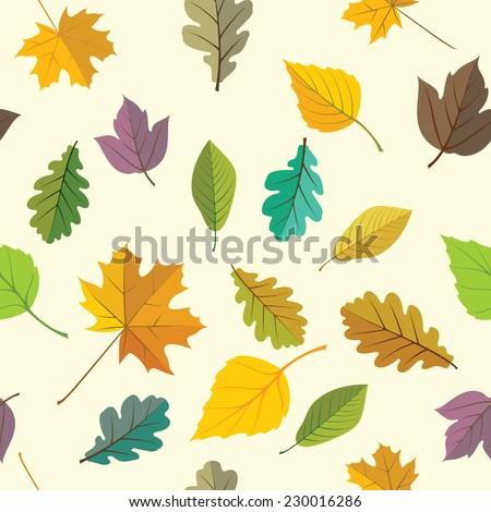 Background - defoliation - stock vector