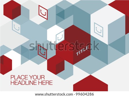 Background design/Poster/Graphic - stock vector