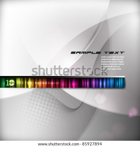 Background- Eps10 Abstract Vector Illustration - stock vector