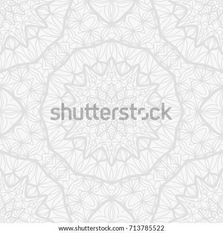 Background wedding invitation card henna mehndi stock vector background for wedding invitation card with henna mehndi floral elements vector illustration white monochrome stopboris Images