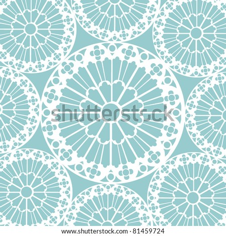 background from a floral ornament, Fashionable modern wallpaper or textile - stock vector