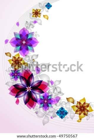 Background from beautiful colors - stock vector