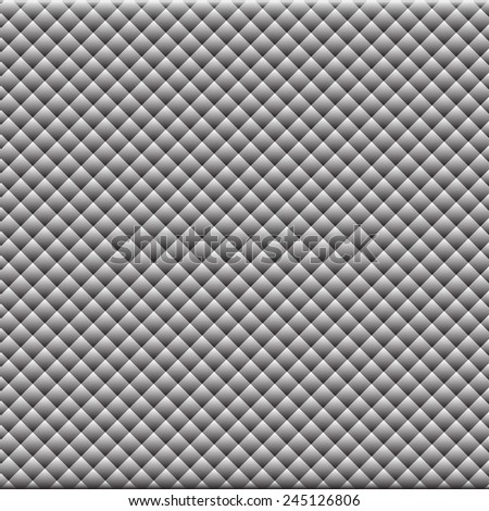 Background from black-and-gray rhombus pattern - stock vector
