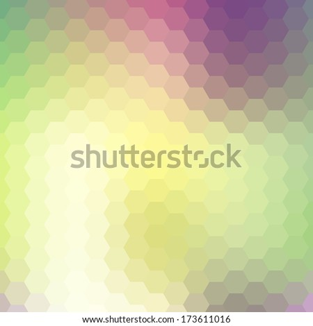Background geometric pattern. Summer or spring theme. vector illustration