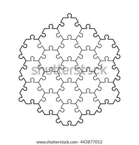 Background hexahedron puzzle pattern hexagon puzzle stock vector background hexahedron puzzle pattern hexagon puzzle piece wallpaper template vector banner presentation pronofoot35fo Choice Image