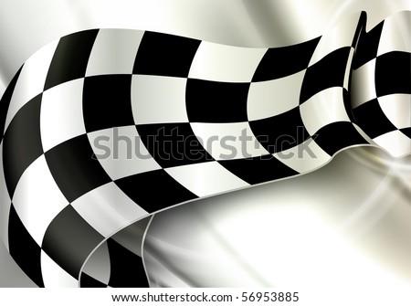 Background Horizontal Checkered, eps10 - stock vector