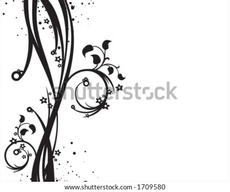 Background illustration, monochrome - stock vector